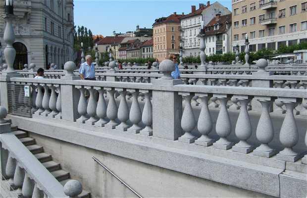 Triplice Ponte (Tromostovje)
