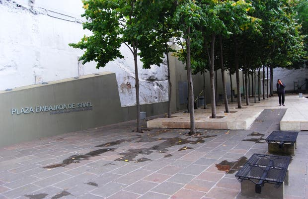 Plaza Embajada de Israel (barrio de Retiro)