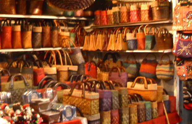 Mercado noturno de Chiang Mai