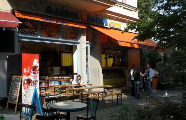 Mandel Orange Eiscafé