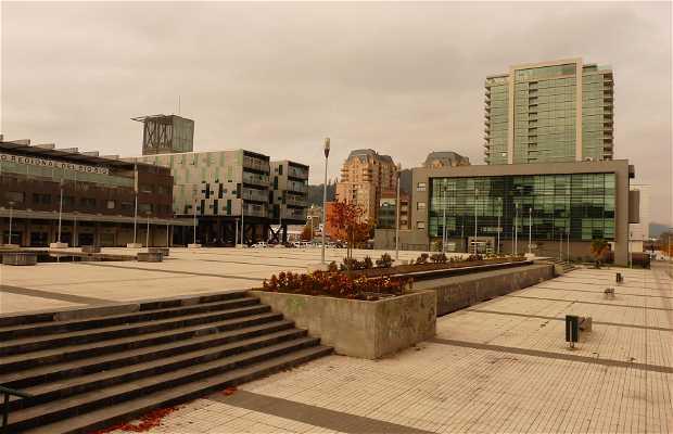Plaza bicentenario de Concepción
