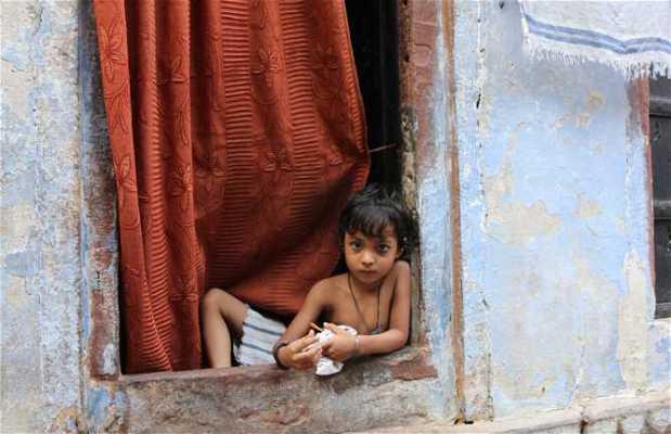 Barrio musulmán de Varanasi