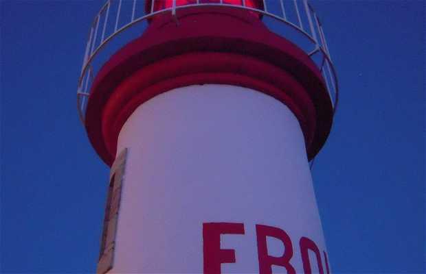 Erquy's lighthouse