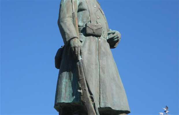 Le monument d'Essoyes