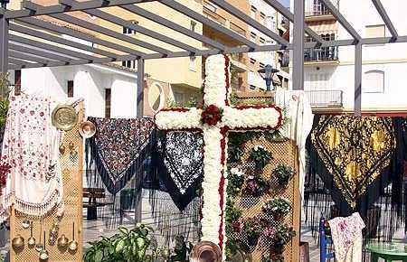 Día de las Cruces en Torre del Mar