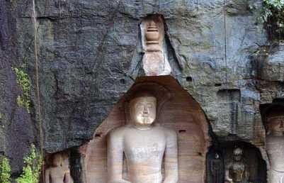 Esculturas Jainistas de Gwalior