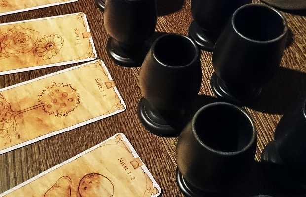 Juego de cata de vinos en El calado