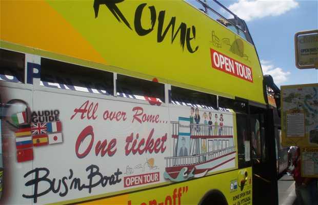 Rome Open Tour Bus