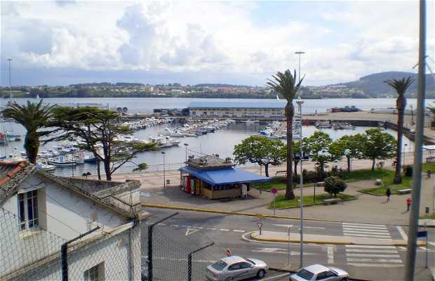 Porto de Curuxeiras a Ferrol
