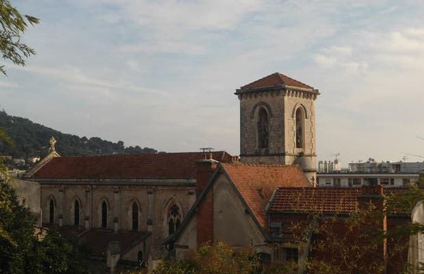Vista desde la Plaza del Vieux Cannet