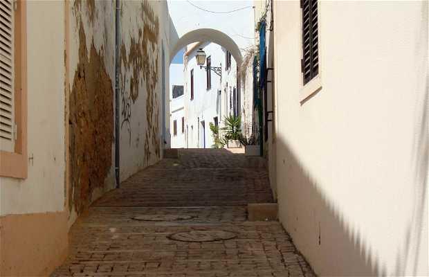 Rua Da Batería y Correio velho