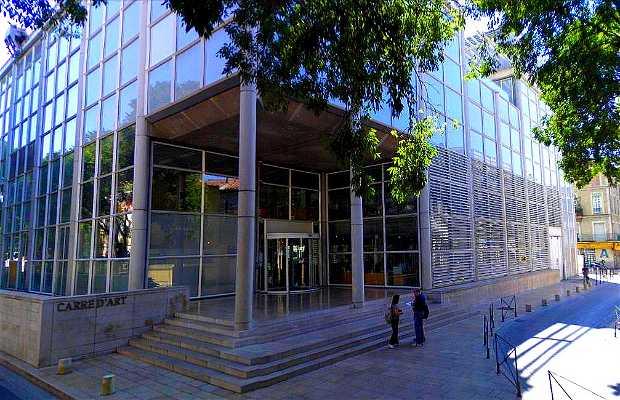 Carré d'Art – Museu de Arte Contemporânea de Nimes