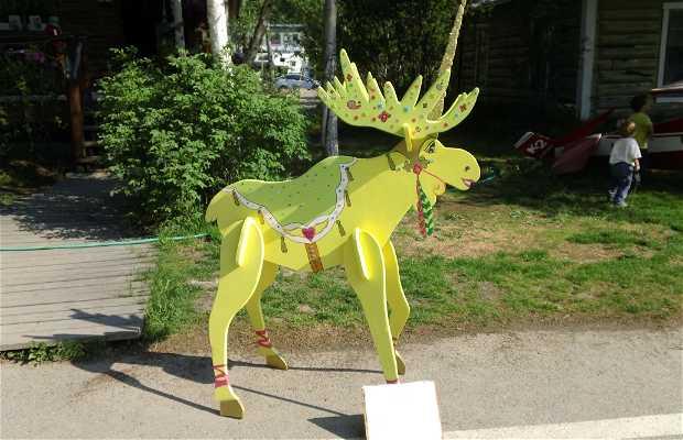 Moose on Parade