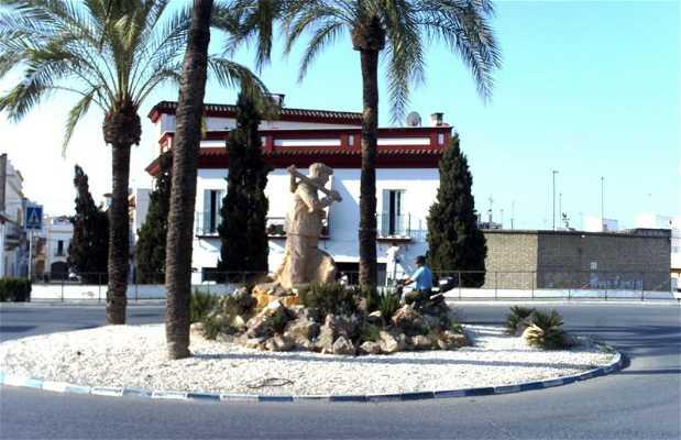 Statue au Paysan