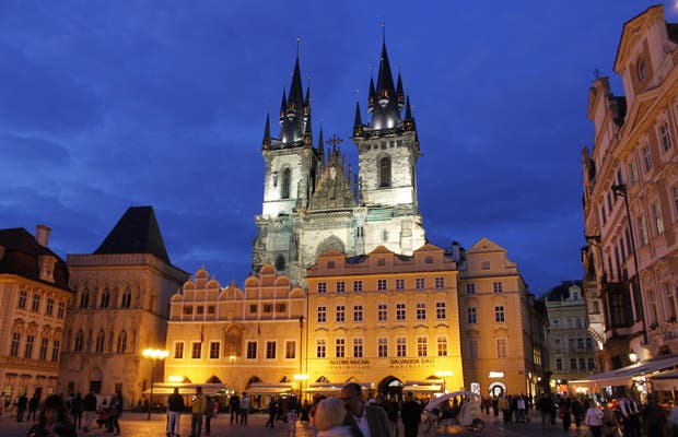 Iglesia de Nuestra Señora en frente del Týn