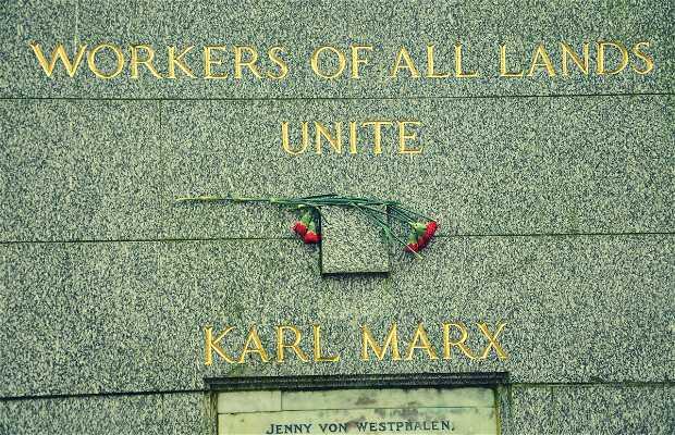 Karl Marx Grave Site