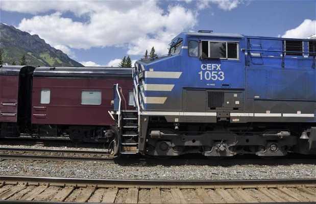 Estacion de tren de Banff