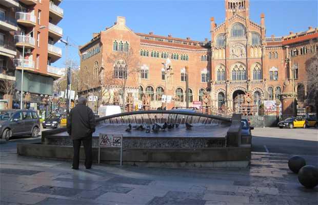 Fontaine de l'Avenue Gaudi