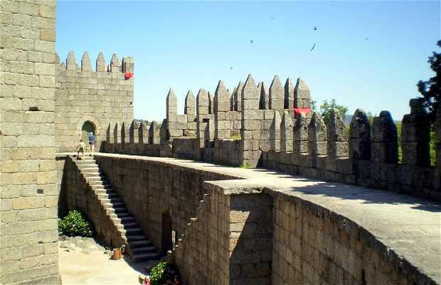 Castello di São Mamede a Guimarães