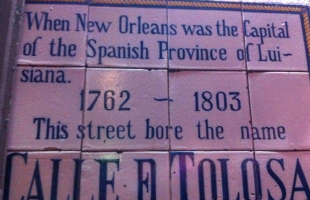 Nueva Orleans calle Tolosa