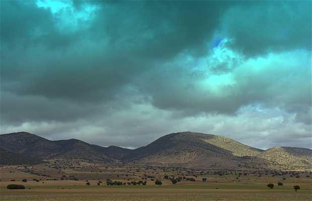 The Revolcadores Mountains