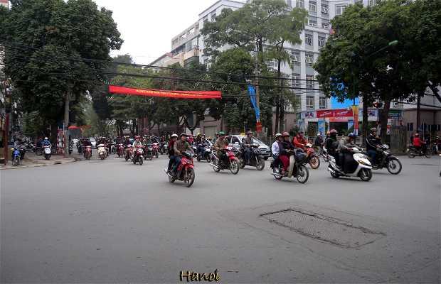 La città di Hanoi