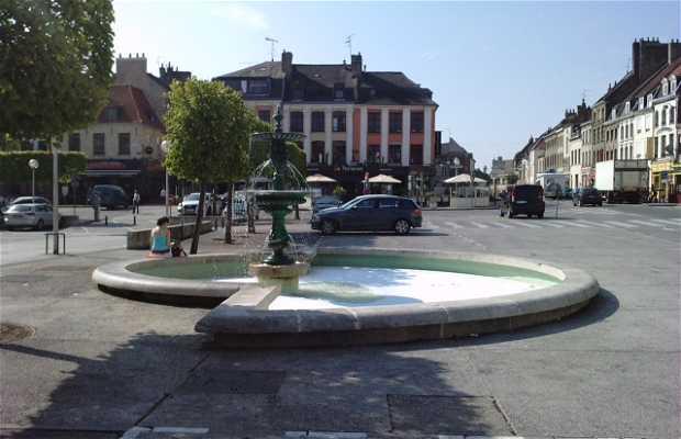 Fontaine mairie