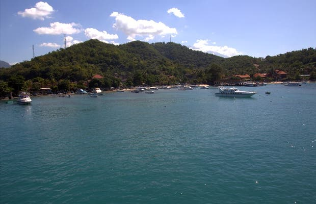 Puerto de Padang Bai