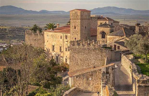 El casco histórico de Trujillo