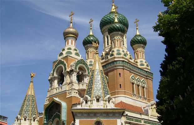 La Chiesa russa ortodossa di San Nicola
