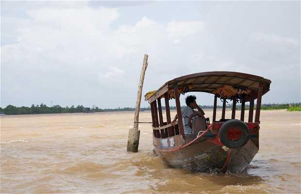 Excursión en barco Mekong
