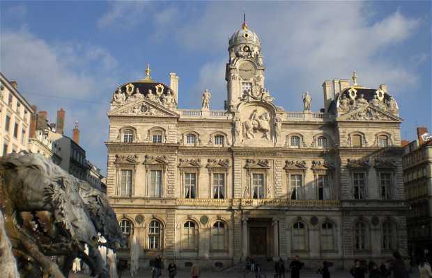 Palazzo del comune a Lione