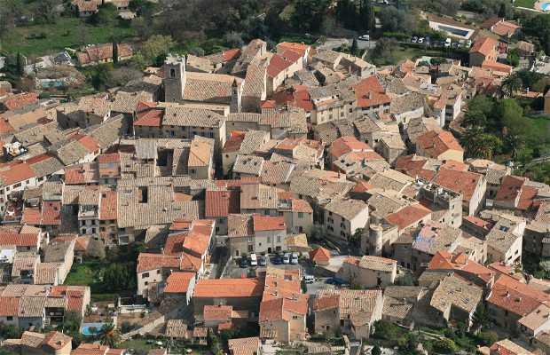 Saint Jeannet village