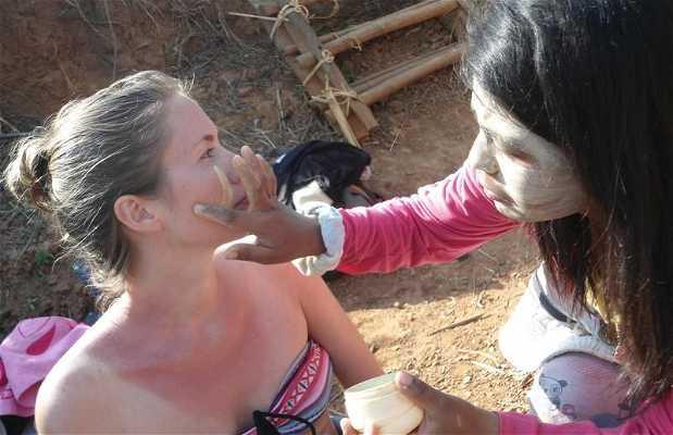 Le maquillage thanakha