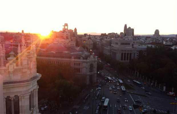 Terrasse panoramique du Palais de Cibeles