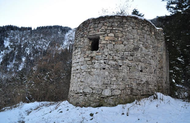 Maison de pierres de Sumela