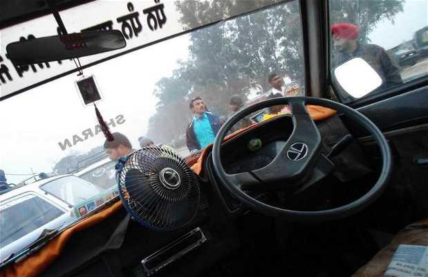 Los taxis compartidos en Amritsar