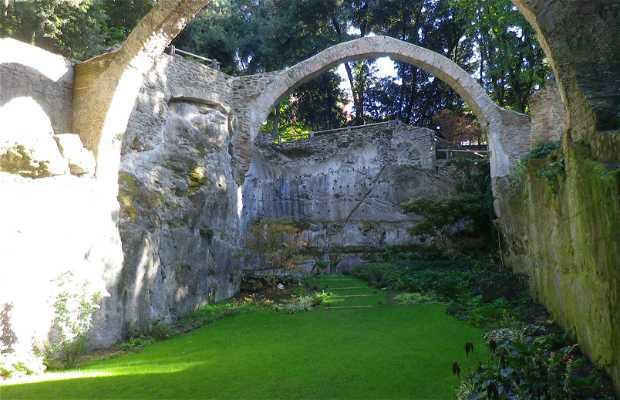 Il parco di Palazzo Chigi