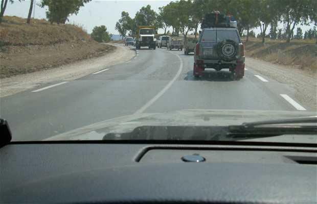 Carreteras de Túnez