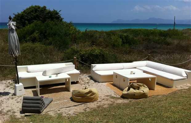 La playa, restaurante chill out