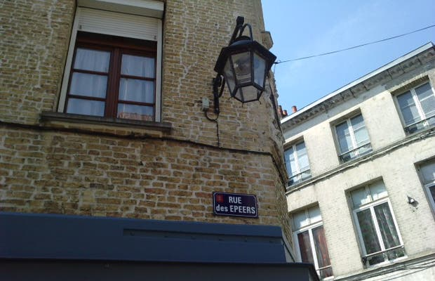 Angle rue des Epeers