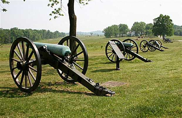 La bataille de Gettysburg sur une peinture à 360°