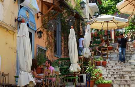 Quartiere della plaka ad atene a atene 11 opinioni e 37 foto for Ristoranti ad atene