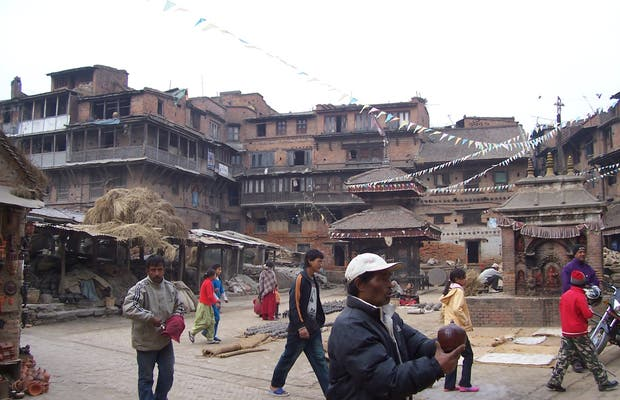Bhaktapur: Potters Square