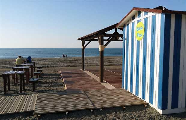 La Biblio-Playa de Torre del Mar