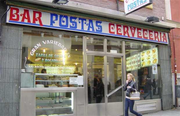 Calle de las Postas a Madrid