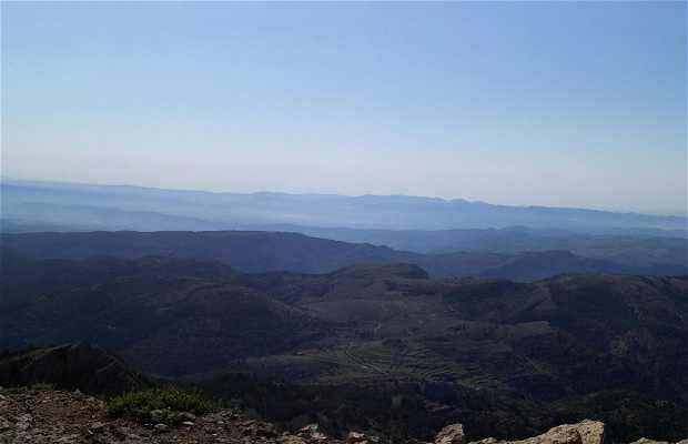 El Pico Penyagolosa en lo más alto