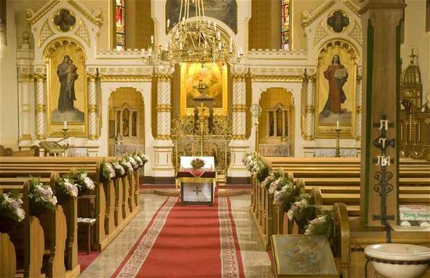 Iglesia Católica Griega de Budapest.