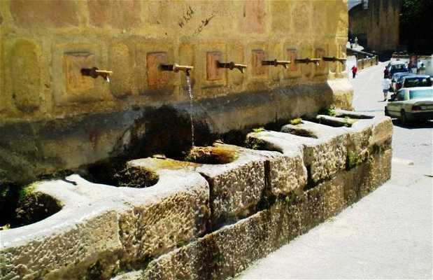 La fontaine des Huit Robinets