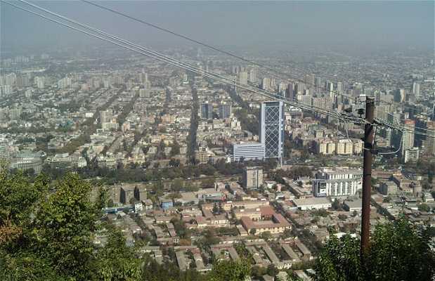 Vistas desde el Parque San Cristobal
